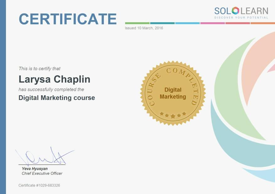 digital-marketing-certificate - Larysa Chaplin